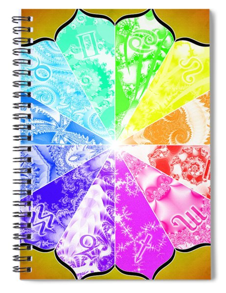 The Age Of Pisces Spiral Notebook