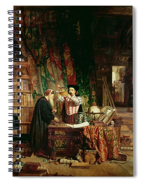 The Alchemist, 1853 Spiral Notebook