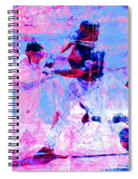 The All American Pastime 20140501 Square V2 Spiral Notebook