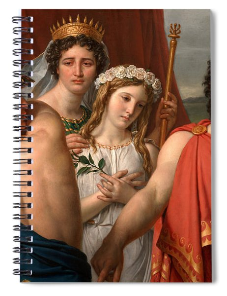 The Anger Of Achilles Spiral Notebook