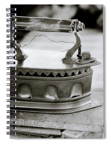 The Antique Iron Spiral Notebook