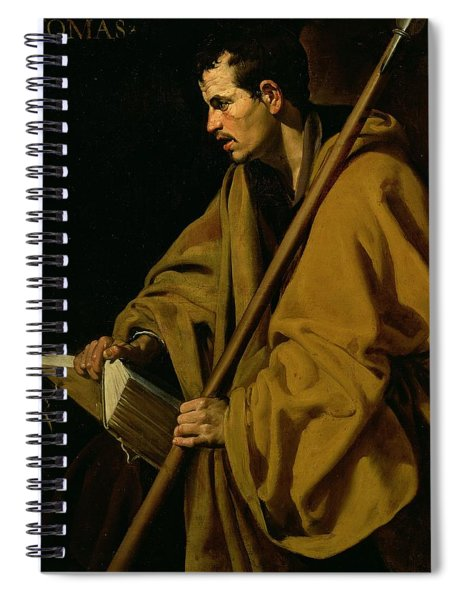 The Apostle St. Thomas Spiral Notebook