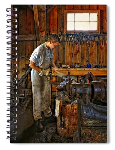 The Apprentice Hdr Spiral Notebook