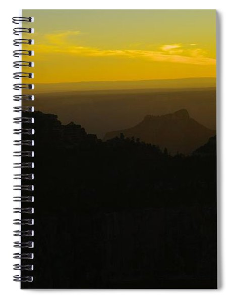 The Arizona Sun Going Down Spiral Notebook