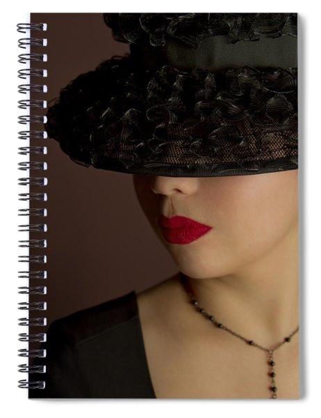 The Art Of Being A Woman Spiral Notebook