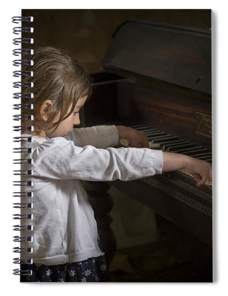 The Art Of Melody Spiral Notebook
