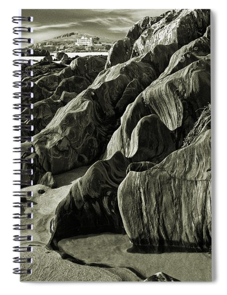 The Art Of Time Spiral Notebook