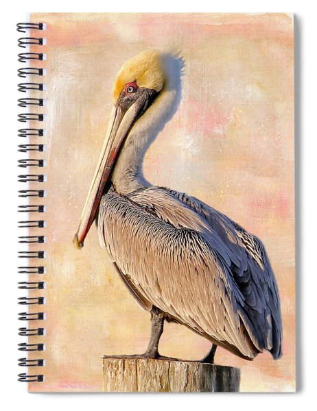 Birds - The Artful Pelican Spiral Notebook