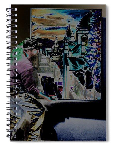 The Artist Paul Emory Spiral Notebook