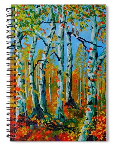 The Aspens Spiral Notebook