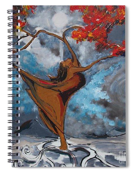 The Balancing Act Spiral Notebook