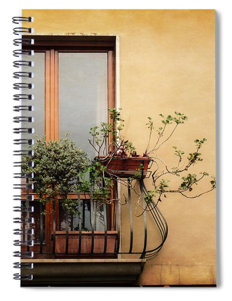 The Balcony Spiral Notebook