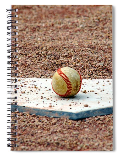The Ball Of Field Of Dreams Spiral Notebook
