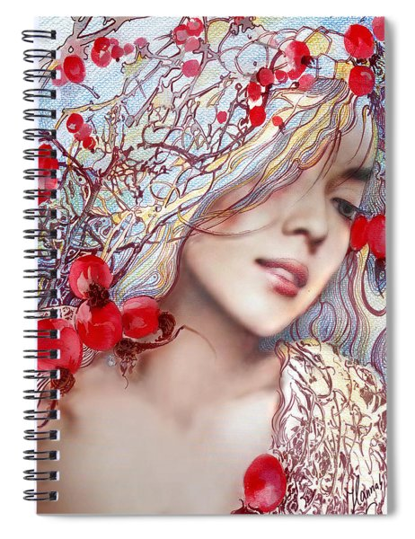 The Barberry Spiral Notebook