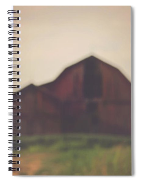 The Barn Daylight Version Spiral Notebook