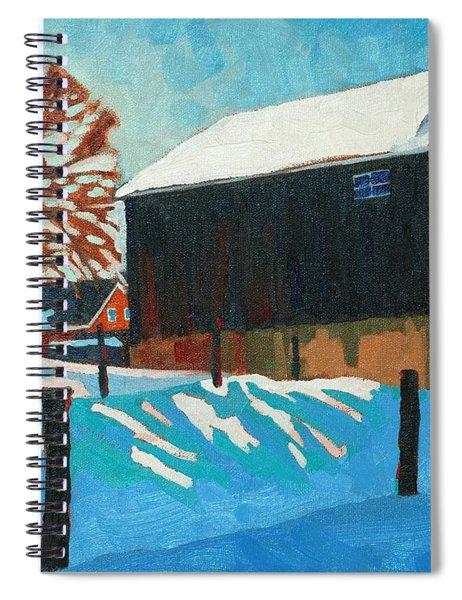 The Barnyard Spiral Notebook