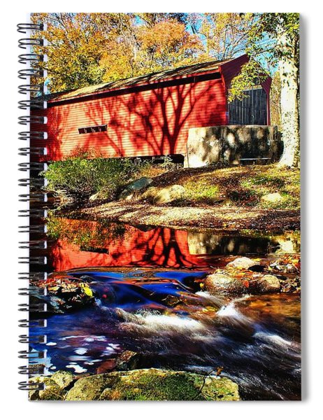 The Bartram Coverd Bridge Spiral Notebook