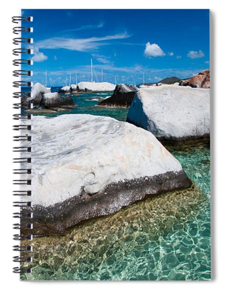 The Baths Spiral Notebook