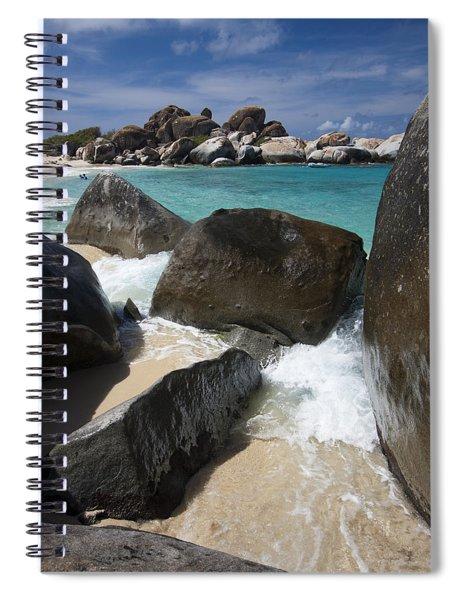 The Baths - Devil's Bay Spiral Notebook