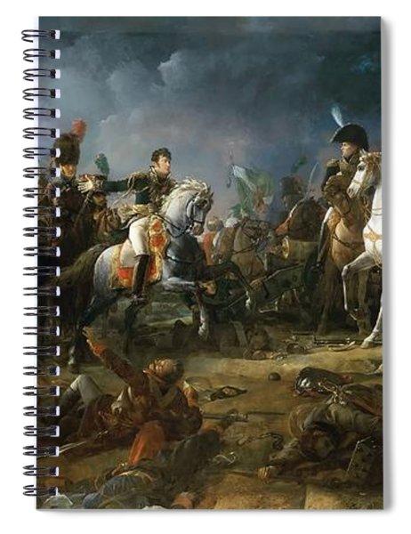 The Battle Of Austerlitz Spiral Notebook