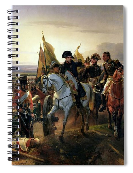 The Battle Of Friedland, 14th June 1807 Oil On Canvas Spiral Notebook