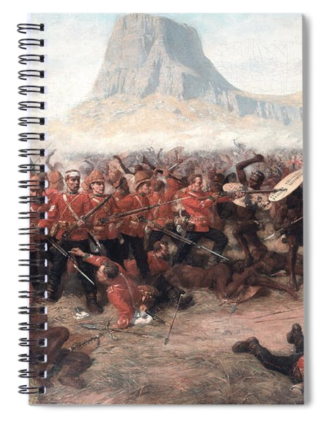 The Battle Of Isandlwana The Last Stand Spiral Notebook