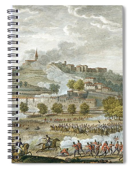 The Battle Of Montebello And Casteggio Spiral Notebook