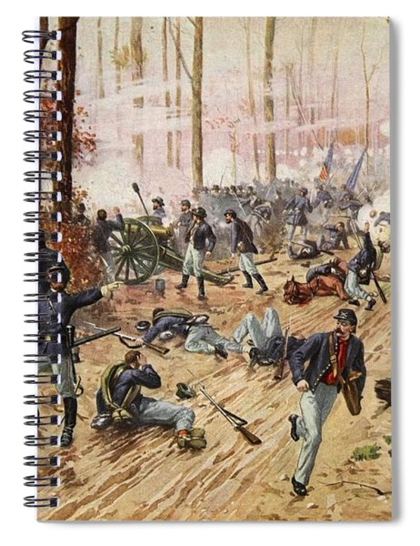 The Battle Of Shiloh April 6th-7th 1862 Spiral Notebook