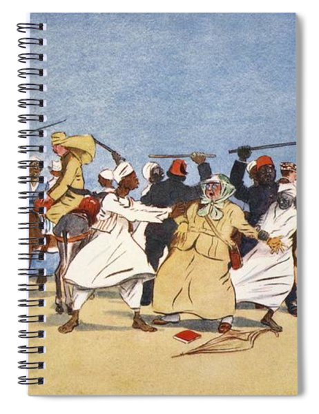 The Battle Of The Nile, From The Light Spiral Notebook