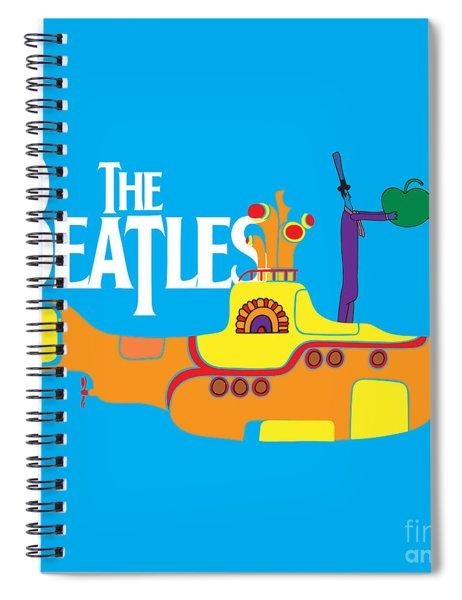 The Beatles No.11 Spiral Notebook