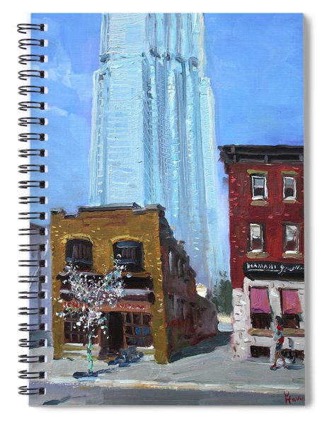 The Beauty N' The Background In London Canada Spiral Notebook