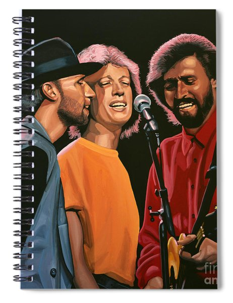 The Bee Gees Spiral Notebook