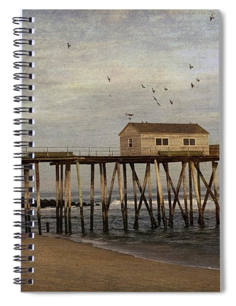The Belmar Fishing Club Pier Spiral Notebook