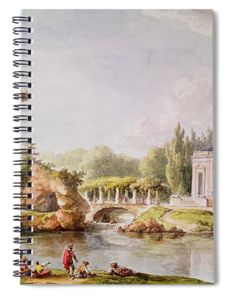 The Belvedere, Petit Trianon Wc Spiral Notebook