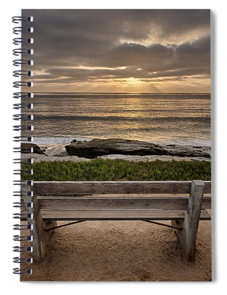 The Bench IIi Spiral Notebook