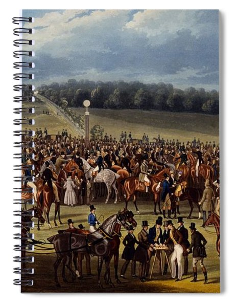 The Betting Post, Print Made By Charles Spiral Notebook