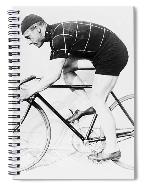 The Bicyclist - 1914 Spiral Notebook