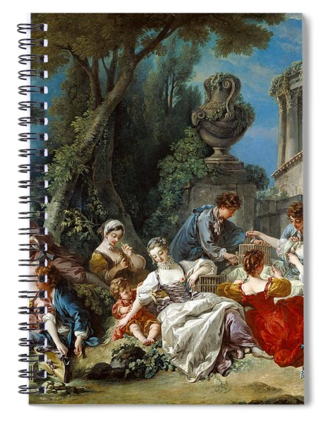 The Bird Catchers Spiral Notebook