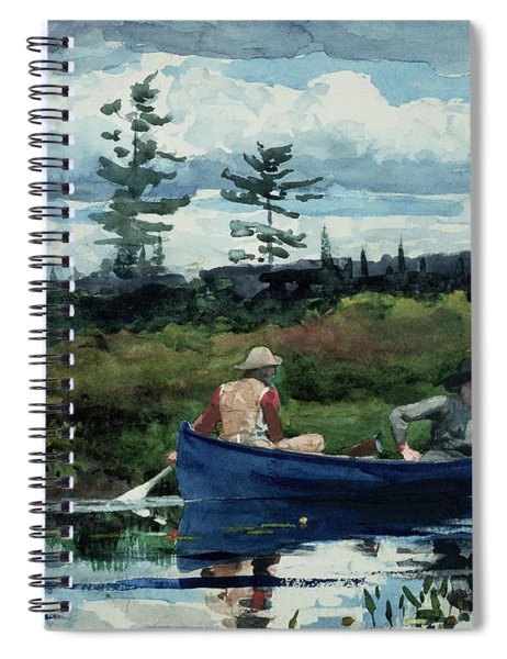The Blue Boat Spiral Notebook