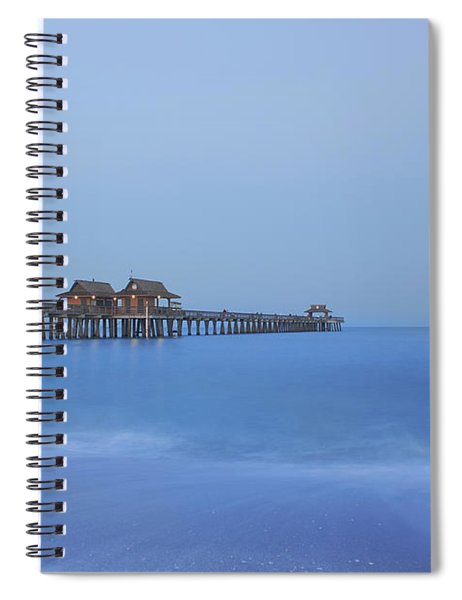 The Blue Hour Spiral Notebook