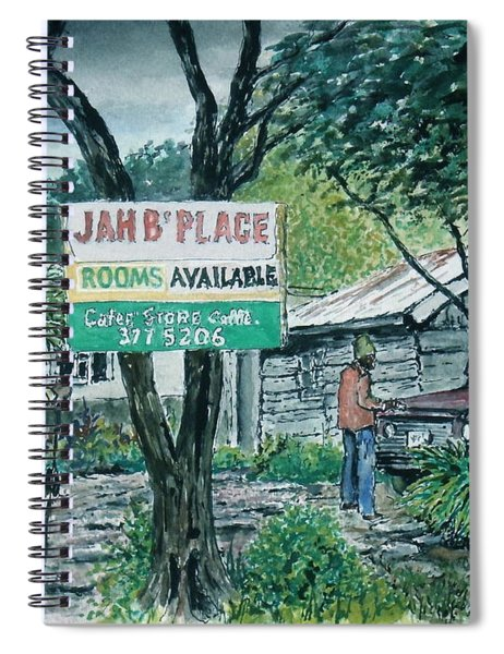 The Blue Mountains Of Jamaica Spiral Notebook