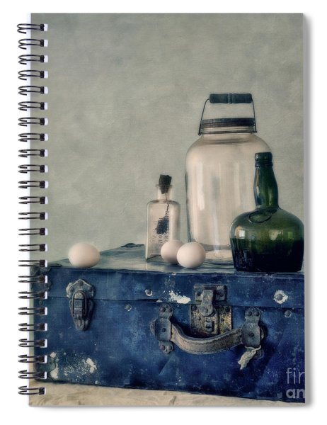 The Blue Suitcase Spiral Notebook