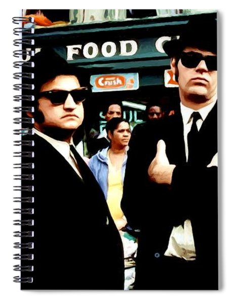 The Blues Brothers Spiral Notebook