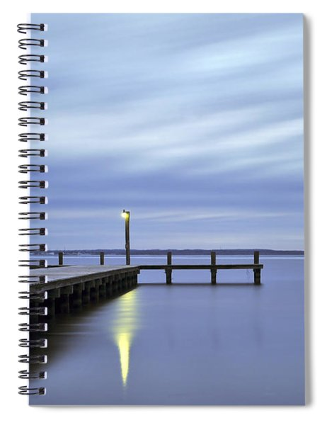 The Blues Lavallette New Jersey Spiral Notebook