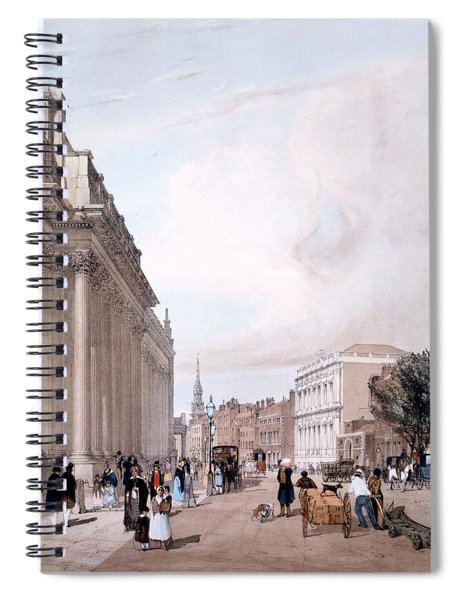 The Board Of Trade, Whitehall Spiral Notebook
