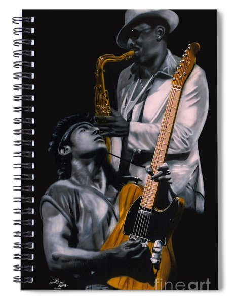 Bruce And Clarence Spiral Notebook