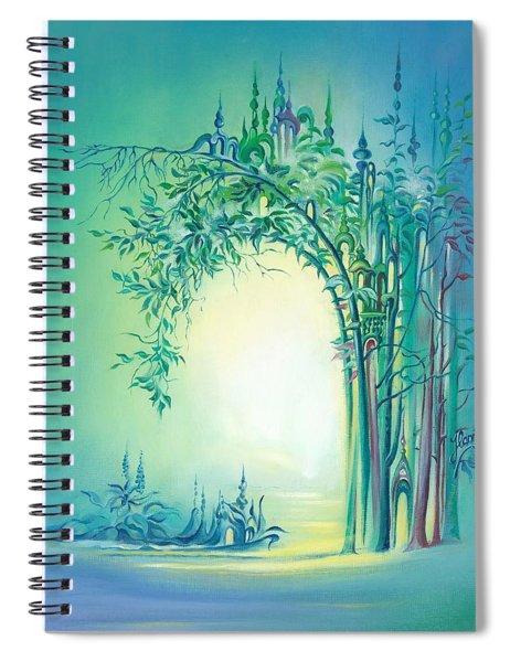 The Boundary Bush Spiral Notebook