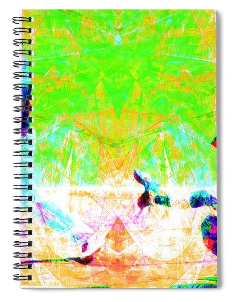 The Boys Of Summer 5d28228 Long Spiral Notebook