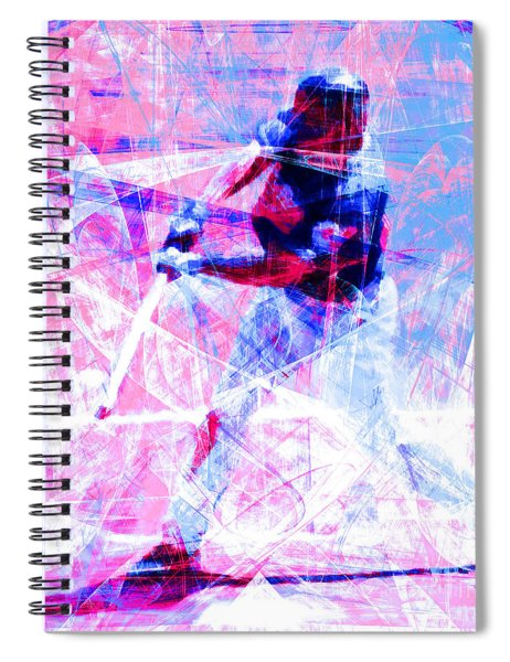 The Boys Of Summer 5d28228 The Batter Square Cool Lbb Spiral Notebook