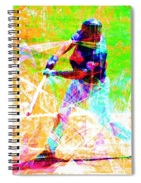 The Boys Of Summer 5d28228 The Batter Square Spiral Notebook